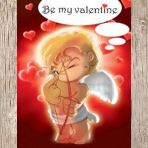 Valentijn 5 x 6,5 cm